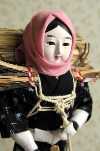さいとうサポート白神山地のフィギュ和、目屋人形がホームステイしてました