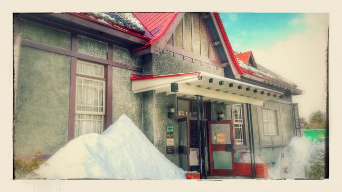 GooglePhotoが加工してくれたスターバックスコーヒー弘前公園前店の写真