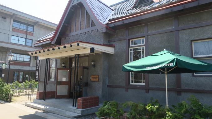 4月17日のスターバックスコーヒー弘前公園前店