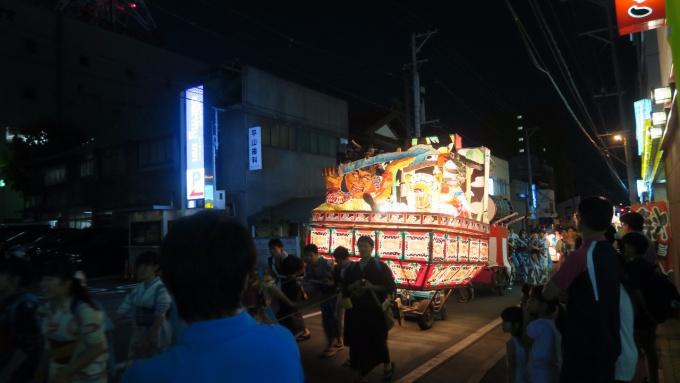 弘前高校ねぷた運行