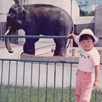 旭山動物園(3歳頃)