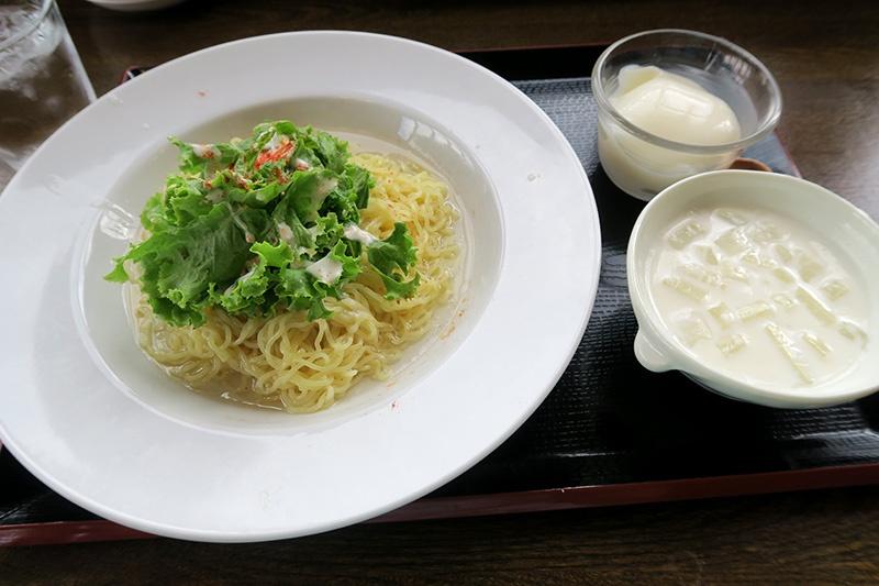 たっぷり野菜の冷し麺セット