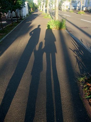 札幌在住時の散歩道