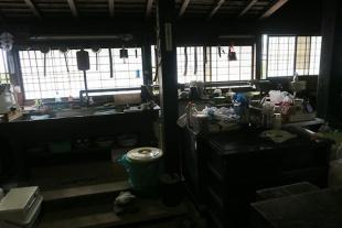 現役な台所