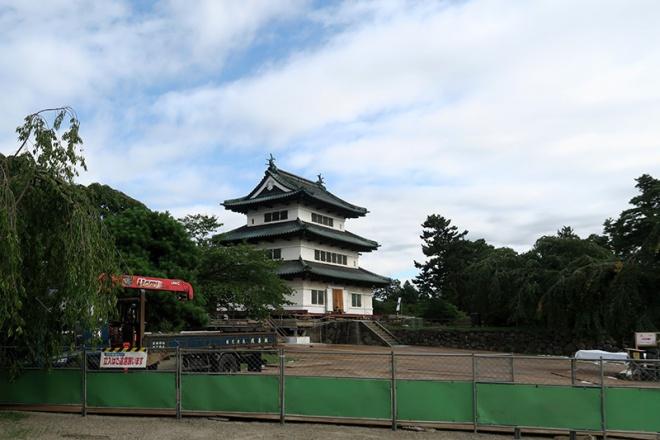 弘前城本丸(現在立ち入り禁止)