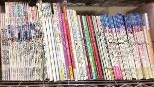 人形服の本だけで一段あります