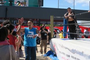 gosaku選手の入場