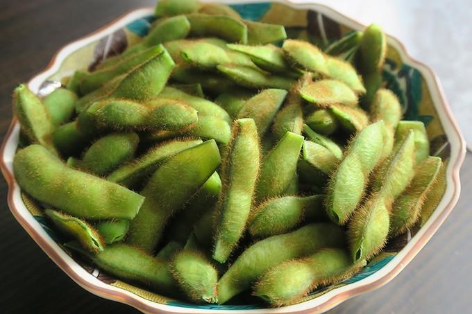 青森県産の毛豆