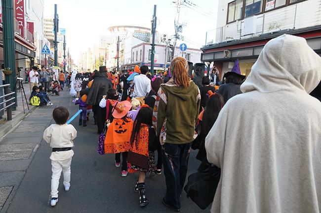 2015年の仮装パレード