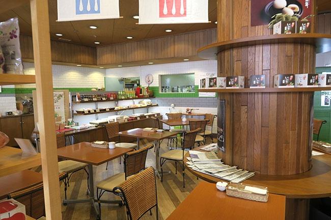 SAKIのカフェコーナー
