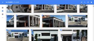1つ目を選んでから終点をShiftキーを押しながら選ぶとその間の写真がすべて選択されます