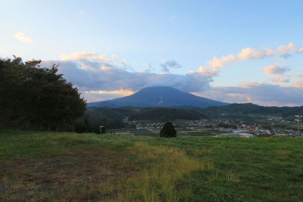 ロマントピアから見る岩木山