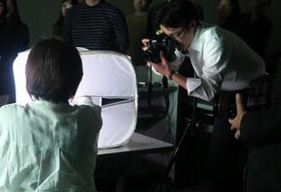 鍋坂さんによるライブ撮影