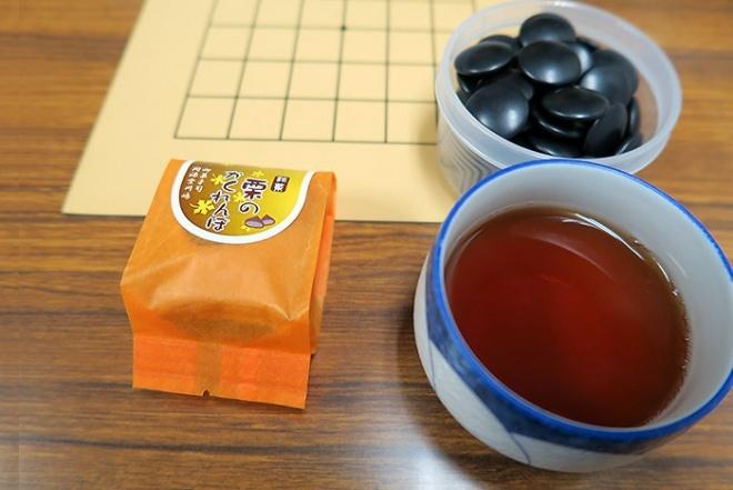開源堂川嶋の銘菓「栗のかくれんぼ」