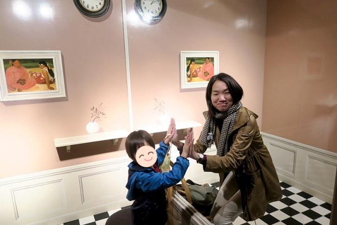 似たもの家族におすすめ、鏡の部屋
