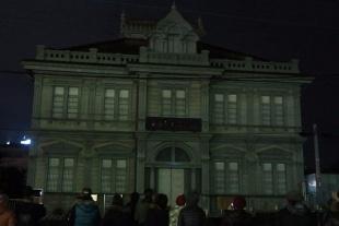 歴史ある青森銀行記念館の建物に