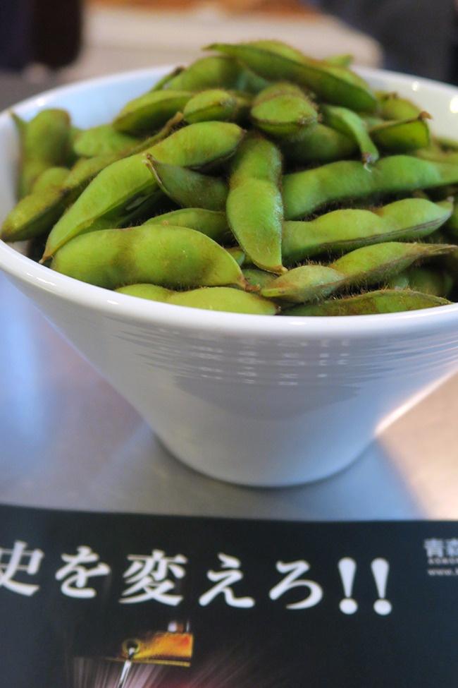 津軽産の毛豆