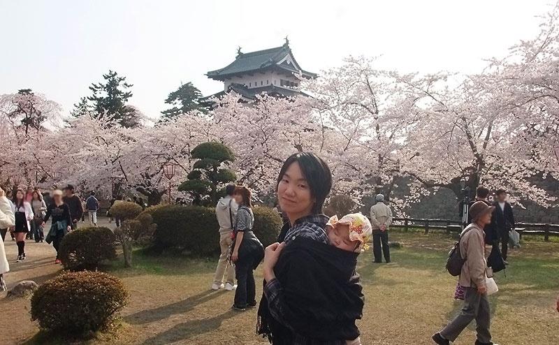 2010年GWの弘前さくらまつり観光