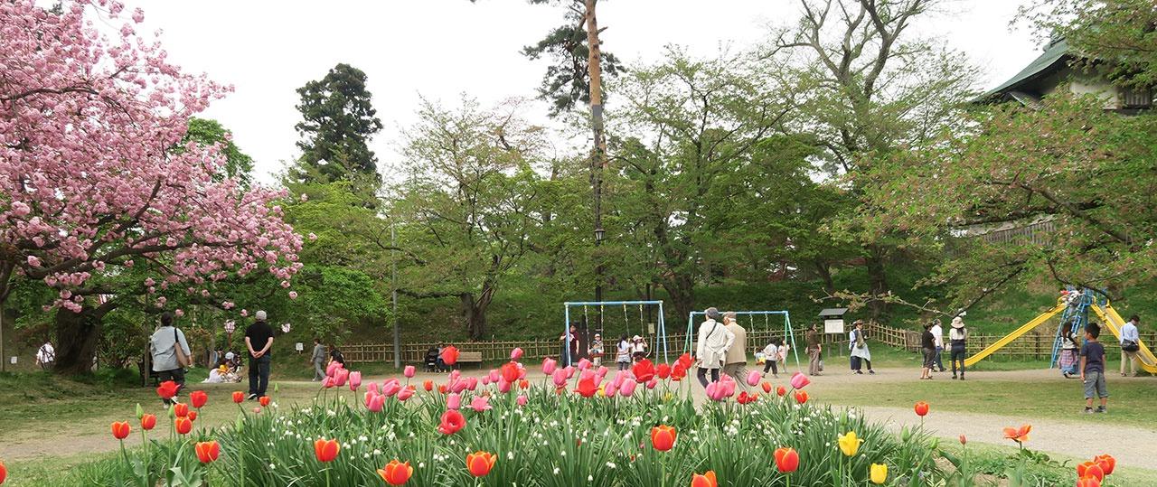 5月連休の公園