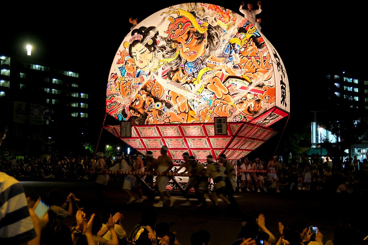 ねぷた祭り(2015年)