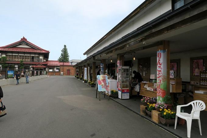 斜陽館と物産館