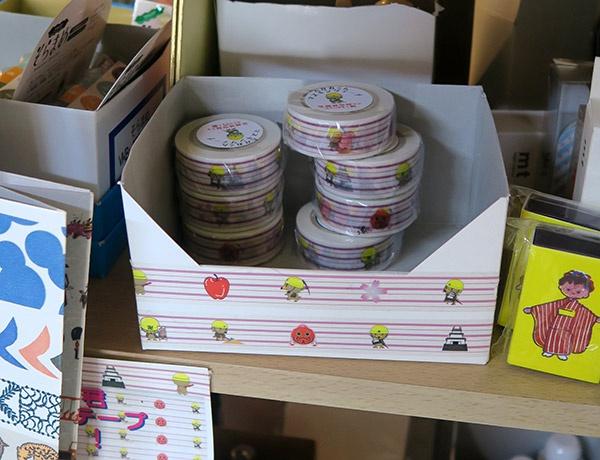 たか丸くんマスキングテープもオリジナル商品