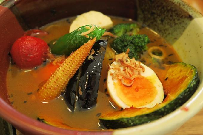たっぷり野菜カレー(1180円)