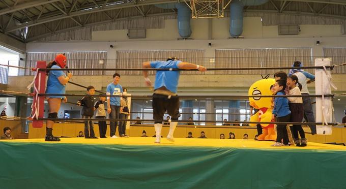 TAKEMARU選手のロープワーク教室