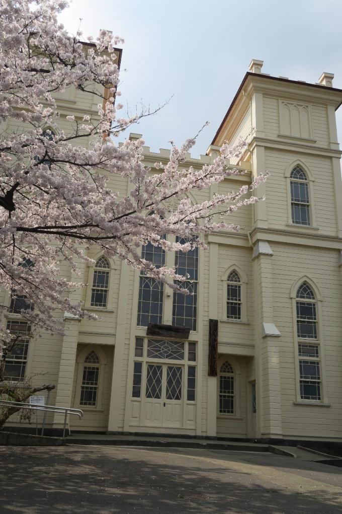 弘前教会(2016年4月22日撮影)