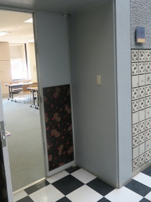 視聴覚室入口