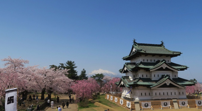 2016年4月26日の弘前城