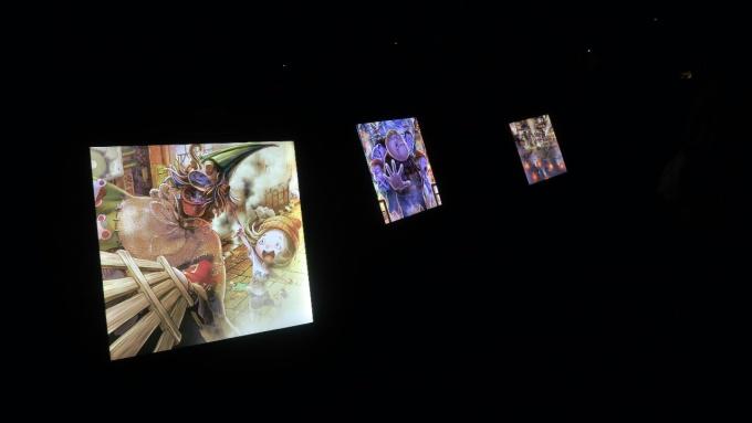 「えんとつ町のプペル」光る絵本展