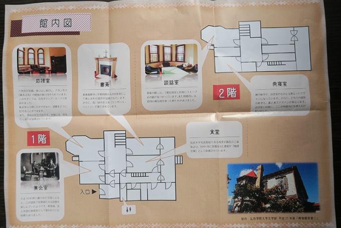 館内の案内図