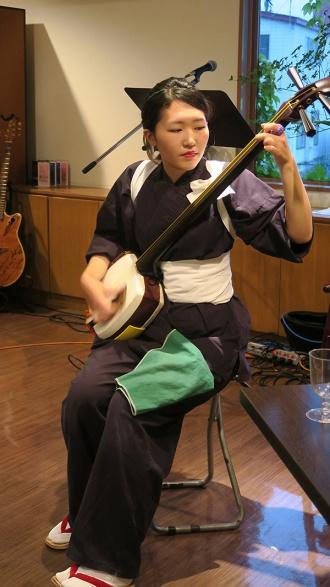 太田彩香さんの津軽三味線演奏
