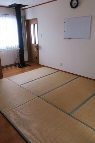 2階の民泊スペース