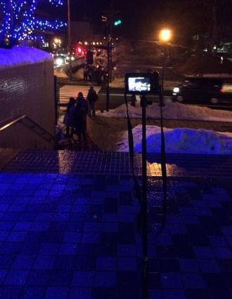 デジカメで夜景撮影時には三脚モードで