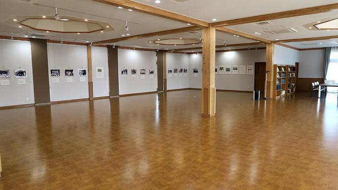 広い展示スペース