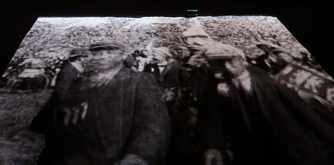 100年前の観桜会の映像