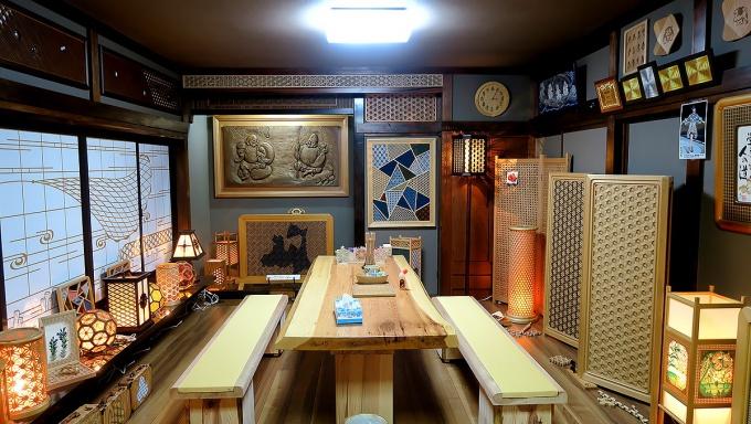 津軽伝統組子のギャラリー
