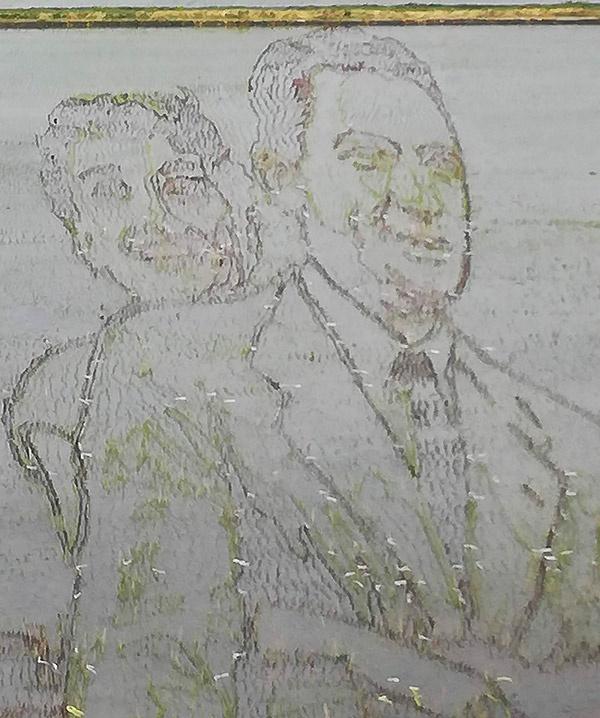 グレゴリー・ペックとオードリー・ヘプバーン