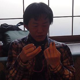 さくらライトアップ実行委員長の米山さん