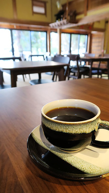 コーヒーでひと息