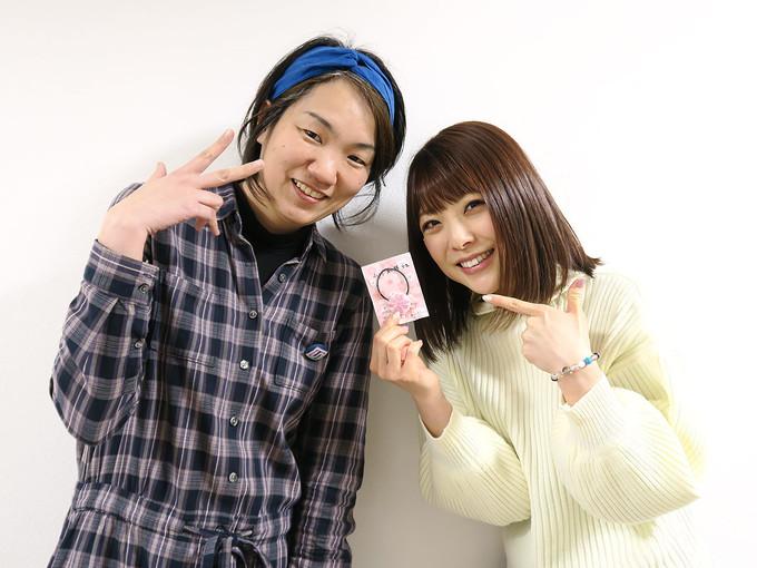 すべて終了した後に小川麻琴さんと記念写真