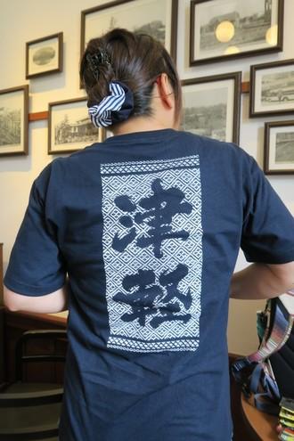 津軽プリントのTシャツ
