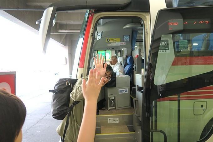 弘前から盛岡へ高速バスで移動します