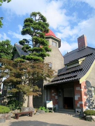 「コンクルシオ」モデルの藤田記念庭園洋館