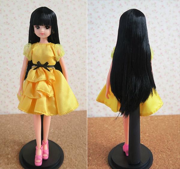 お人形教室リカちゃん(髪色9601番)