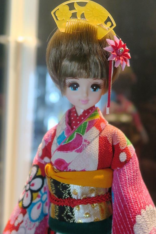 日本髪のマリーン