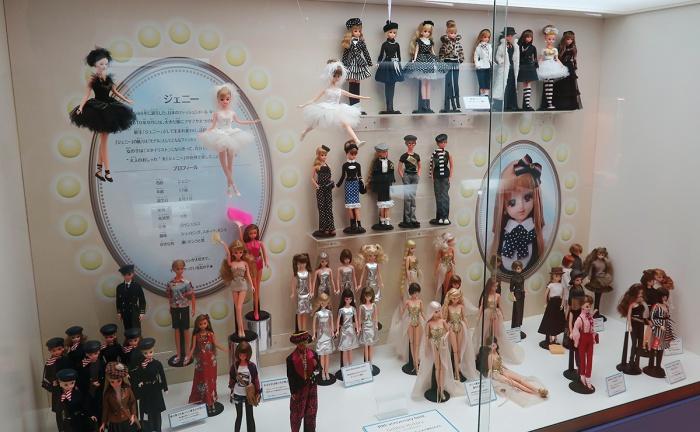 ジェニー人形展示ブース