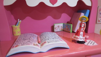 日記帳とリカちゃん